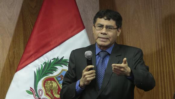 """El fiscal Germán Juárez investiga 53 obras del """"Club de la Construcción"""" que se habrían dado en el gobierno de Ollanta Humala. (Foto: GEC)"""