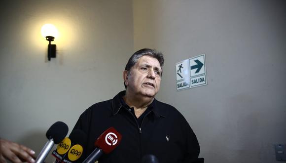 """""""Muchos que no están de acuerdo con el gobierno no usan su teléfono ni las redes para dar su opinión"""", opinó García Pérez.(Foto: Mario Zapata / GEC)"""