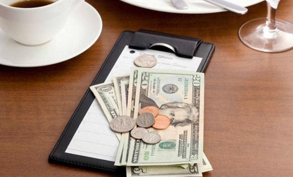 Washington se rebela y vota contra las propinas en los restaurantes (Foto: AFP)