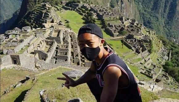 Jesse Katayama esperó pacientemente siete meses para ingresar a Machi Picchu. (Foto: Facebook)