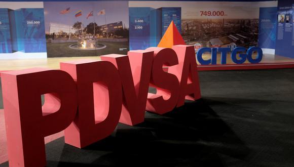 Los logotipos corporativos de la compañía petrolera estatal PDVSA y Citgo Petroleum Corp se ven en Caracas. (Foto: Reuters)