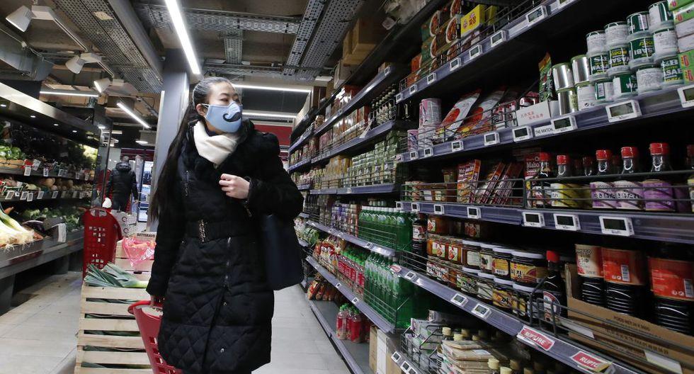 Ventas de abarrotes se duplicaron en supermercado en solo una semana de marzo. (Foto: AP)