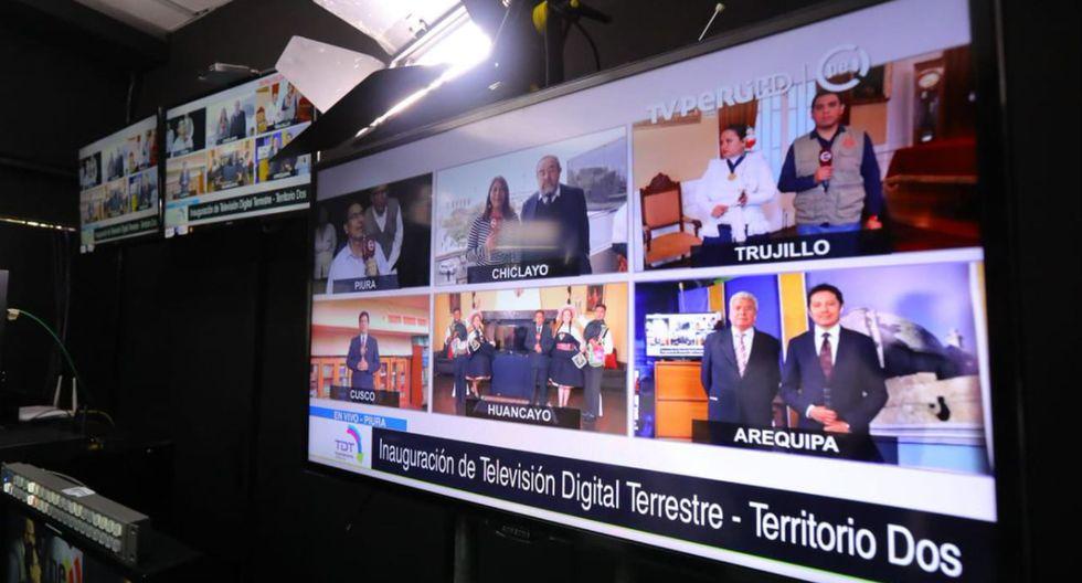 69 estaciones realizan transmisiones analógica y digital en las regiones como Chiclayo, Cusco, Huancayo, Piura, Pisco, entre otras localidades. (Foto: Andina)
