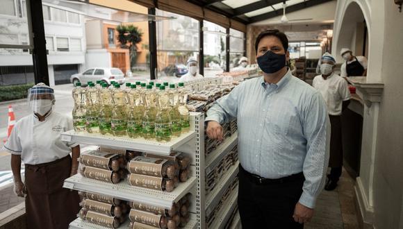 Pastelería San Antonio, la que no se dio por vencida para mantener a flote un negocio de cual dependen 700 trabajadores. (Foto: Joel Alonzo)