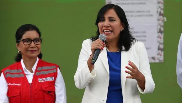 Flor Pablo será la tercera ministra de Educación en ser interpelada por el actual Congreso a propuesta de Fuerza Popular. (Foto: GEC)