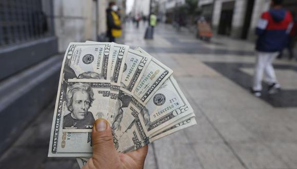 El dólar acumula una ganancia de 11.91% en el mercado cambiario en lo que va del 2021. (Foto: Violeta Ayasta / GEC)