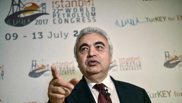 Fatih Birol, director de la Agencia Internacional de la Energía. (Foto: AFP)