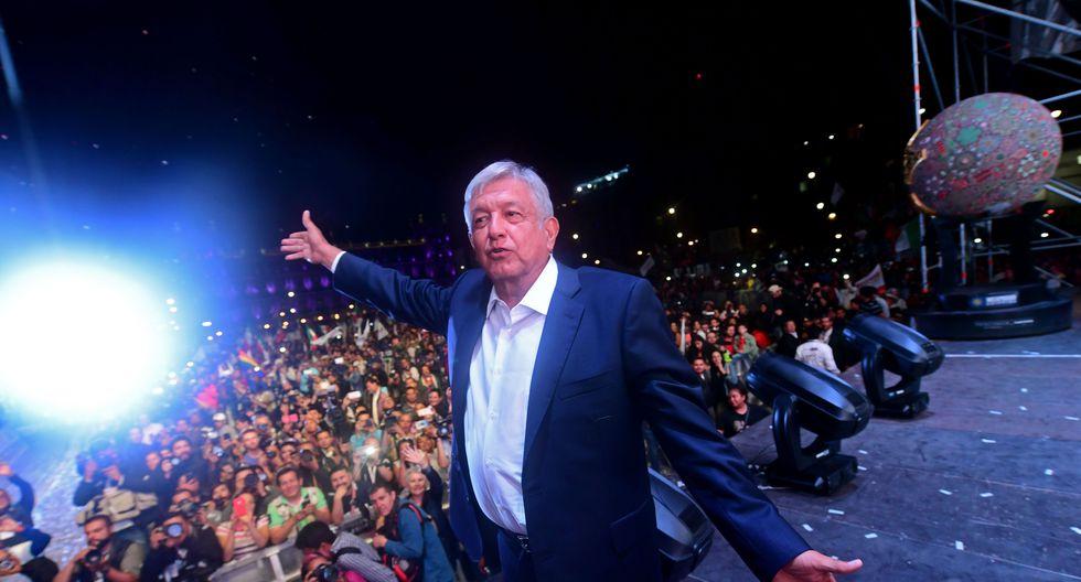 Diversos mandatarios del mundo saludaron el triunfo de AMLO. (Foto: AFP)