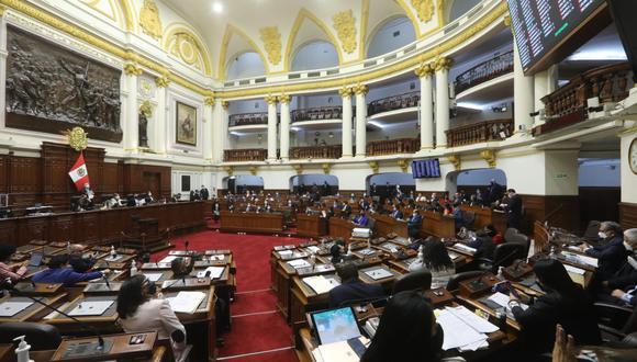 El Congreso de la República aprobó un texto sustitutorio que interpreta la cuestión de confianza. (Foto: Congreso)