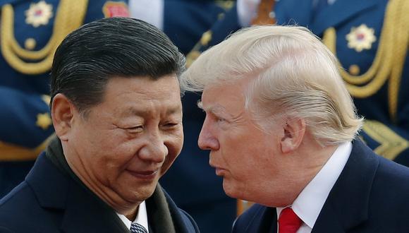 """El FMI advirtió que la guerra comercial entre EE.UU. y China puede """"poner en peligro la recuperación"""" del crecimiento económico global para este año.(Foto: AP)"""