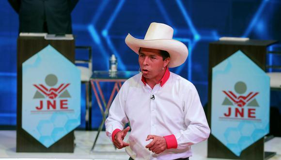 Pedro Castillo, candidato presidencial de Perú Libre, disputará la segunda vuelta de las Elecciones Generales del 2021. (Foto: Archivo GEC)
