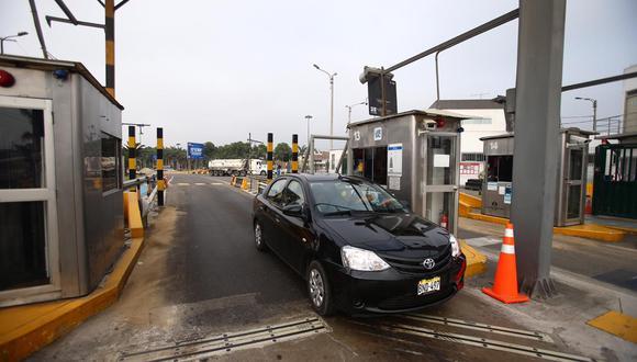 Los conductores ya no tienen que pagar peaje para acceder a la Av. Separadora Industrial. (Foto: GEC)