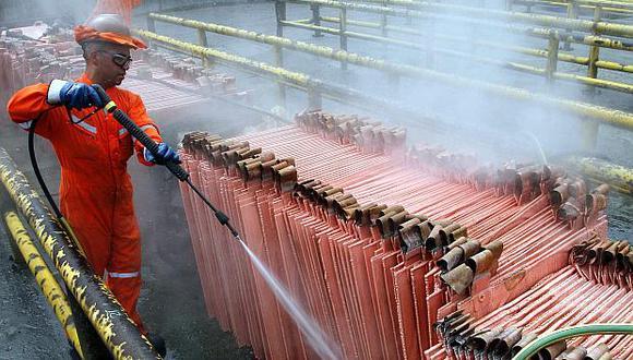 Los precios del cobre se han mantenido estancados en los niveles actuales desde fines de febrero.(Foto: Reuters)