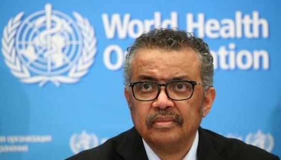 Director general de la Organización Mundial de la Salud (OMS), Tedros Adhanom Ghebreyesus. (Foto: Reuters)
