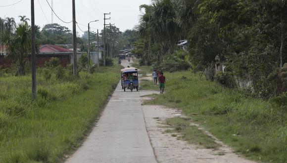 Vías en la selva. Se podría acarrear sanción comercial al Perú. (Foto: Cesar Fajardo)