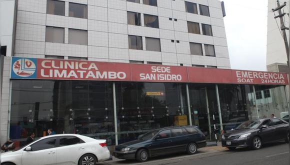 17 de setiembre del 2010. Hace 10 años - Clínica Limatambo ingresa al negocio inmobiliario. Desarrolla proyecto de oficinas en San Isidro por US$ 6 millones.