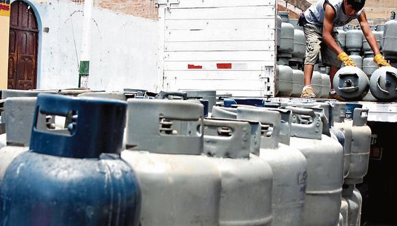 GLP. Gobierno busca mayor trazabilidad en su cadena de suministro. (Foto: GEC)