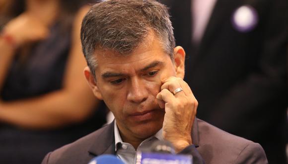 Julio Guzmán defendió candidatura de Flor Pablo, quien cuenta con una acusación fiscal. (Foto: GEC)
