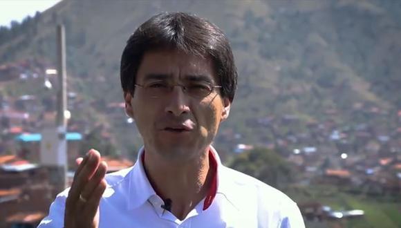 Jean Paul Benavente, candidato a la Región Cusco. (Foto: Faccebook Jean Paul Benavente)