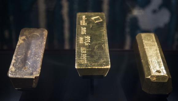 Los futuros del oro en Estados Unidos bajaban un 0.5% a US$ 1,819.70 la onza. (Foto: Reuters)