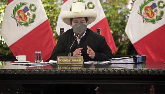 El presidente Pedro Castillo viajará del 17 al 22 de setiembre a México y EEUU (Foto: Presidencia Perú)
