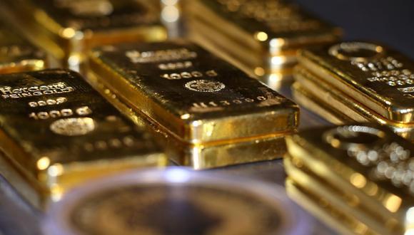 Los futuros del oro en Estados Unidos saltaban 0.7% a US$ 1,851.10 la onza. (Foto: Reuters)