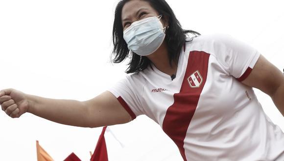 Keiko Fujimori realizó una gira por el norte. (Foto: César Campos/El Comercio).