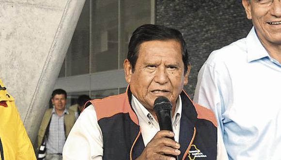 Detalles. El encuentro de los tres gobernadores podría ser en Arequipa o Moquegua, dijo Zenón Cuevas. (Foto: Difusión)