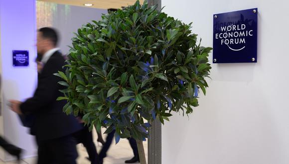 La idea de plantar árboles para compensar las emisiones de CO2 ganó fuerza en Davos. (Foto: AFP)