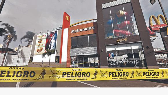 Los jóvenes Carlos Campos Zapata y Alexandra Porras Inga murieron el 15 de diciembre del 2019 al interior del local de McDonald's ubicado en Pueblo Libre. (GEC)