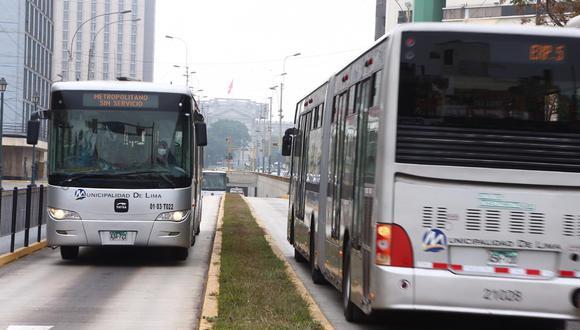 Lima Bus Internacional es la única de las cuatro concesionarias que a la fecha no suspendió sus actividades por falta de pago del subsidio en el marco de la pandemia por el coronavirus. (Foto: @photo.gec)