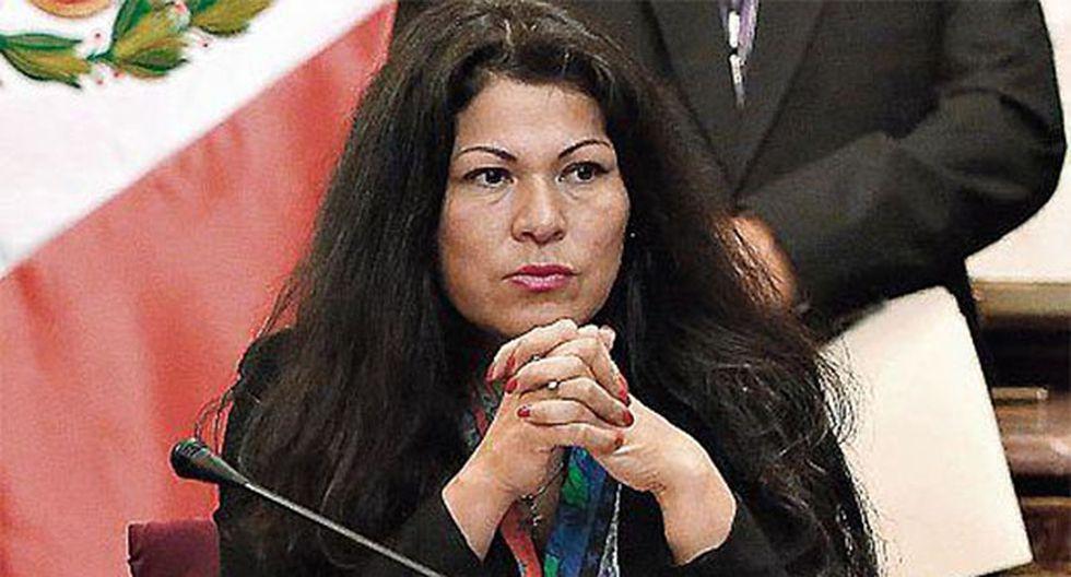 Yesenia Ponce podría ser suspendida 120 días, pero su caso aún no se resuelve. (Foto: Agencia Andina)