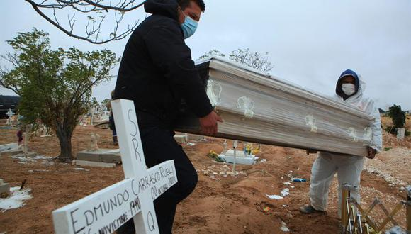 La cantidad de fallecidos por COVID-19 aumentó este jueves.(Foto: EFE/Luis Torres).