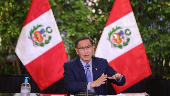 El presidente Martín Vizcarra aseguró que las modificaciones aprobadas por el Legislativo respecto a la inmunidad perjudican al país. (Foto: Presidencia)