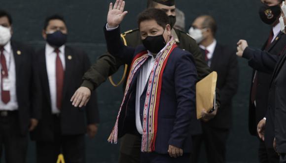 Gabinete Ministerial encabezado por Guido Bellido pedirá voto de confianza al Congreso. (Foto: Anthony Niño de Guzmán / @photo.gec)