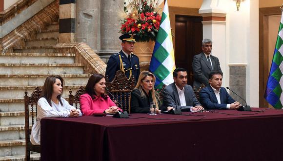 Roxana Lizarraga Vera solicitó refugio en Perú. (Foto: AFP)