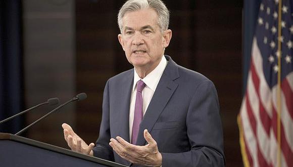 Jerome Powell, presidente de la Reserva Federal de Estados Unidos. (Foto: EFE)