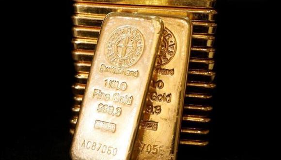 Los futuros del oro en Estados Unidos caían un 0.35% a US$ 1,787 la onza. (Foto: Reuters)
