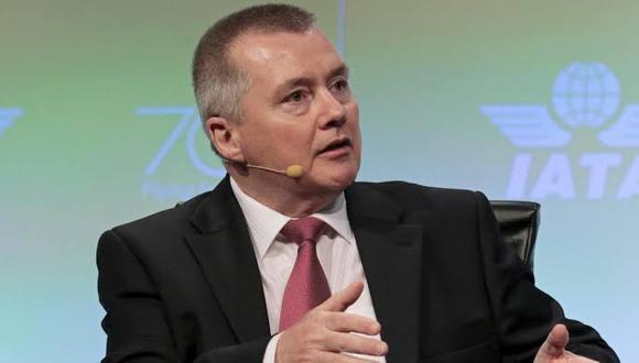 Willie Walsh, director general de IATA.