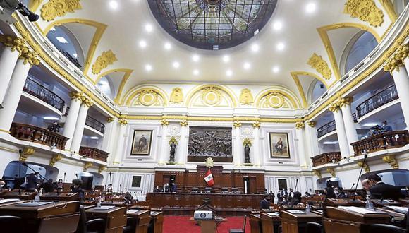 """Votación. El Ejecutivo solo necesita el voto de la """"mayoría simple"""" del pleno para adjudicarse las facultades. (Foto: Congreso)"""
