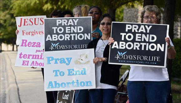 Gobierno de Estados Unidos y Texas luchan entre aborto y la vida.