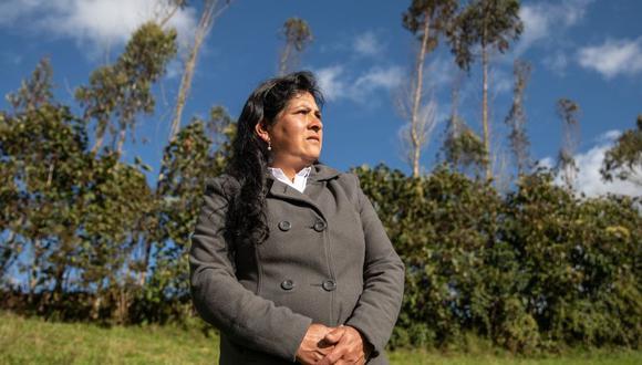Lilia Paredes, futura primera dama, viajará a Lima para acompañar a Pedro Castillo en los próximos días. (Foto: Andina)