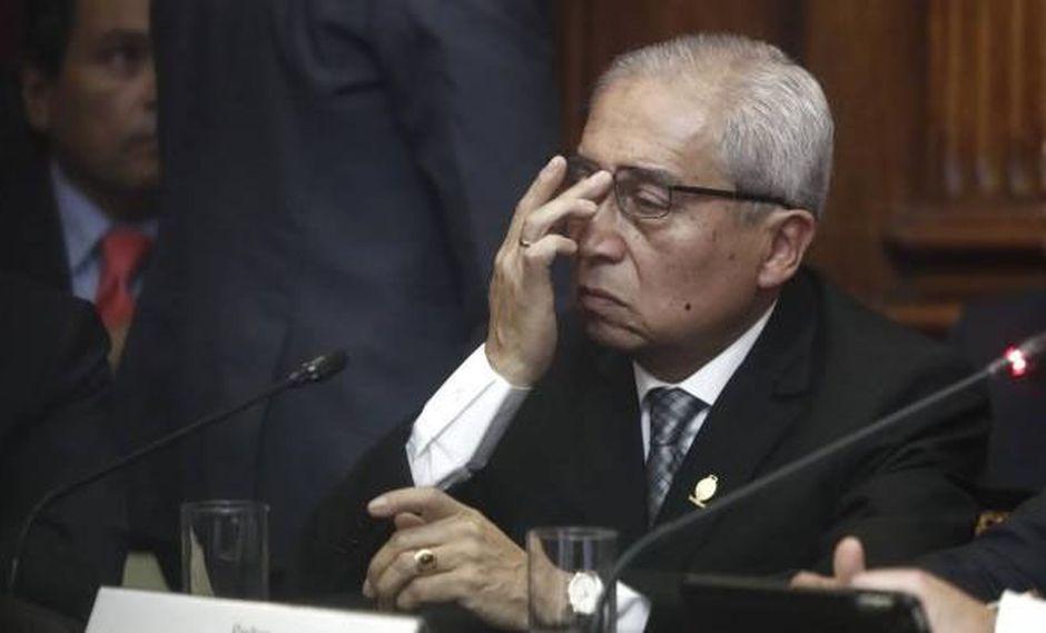 Fiscal de la Nación, Pedro Chávarry, cuestionó allanamiento al despacho de su asesor principal dirigido por José Domingo Pérez. (Foto: GEC)
