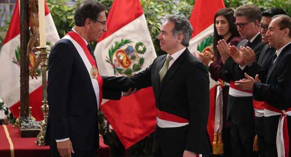 Petrozzi asumió el cargo el pasado 3 de octubre. (Foto: Prensa Palacio)