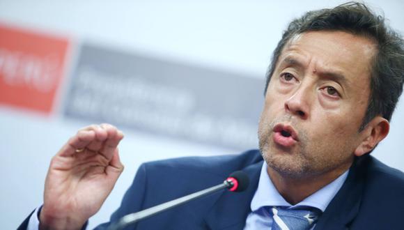 David Tuesta, ministro de Economía. (Foto:Andina)