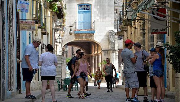 El turismo es la segunda fuente de ingresos de Cuba. (Foto: AFP)