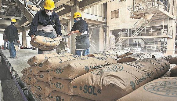 El consumo de cemento de ha desacelerado para el mes de noviembre