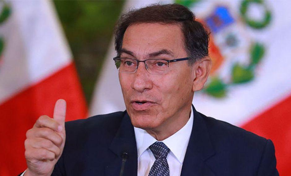 Martín Vizcarra se refirió a la anulación del indulto otorgado a Alberto Fujimori. (Foto: Agencia Andina)
