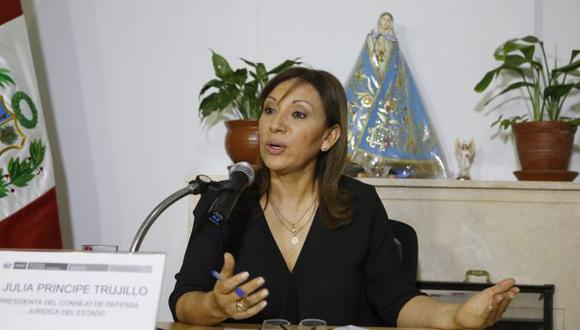 La exprocuradora Julia Príncipe está alejada de la política. (Foto: Alonso Chero)