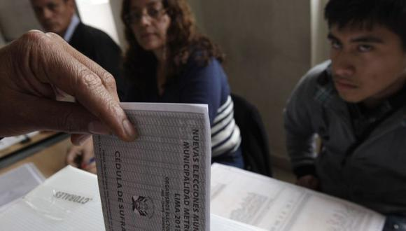 Elecciones Generales de Perú de 2021   Ciudadanos pueden consultar, a través del portal web del JNE, si tienen alguna multa electoral. (Foto: ONPE)